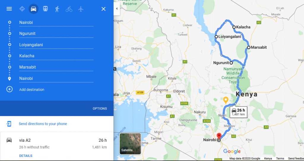 Northern Circuit Tours Kenya